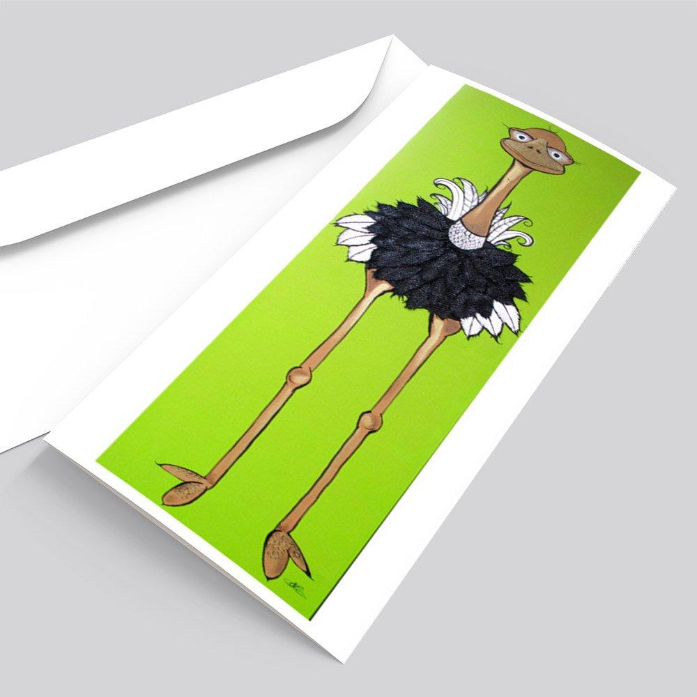 Lofty Ostrich