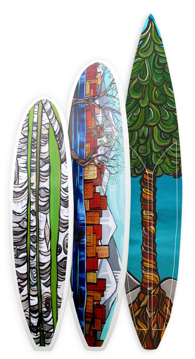 'Urban Views, Among the Birch and Evergreen Lofts' on SUP