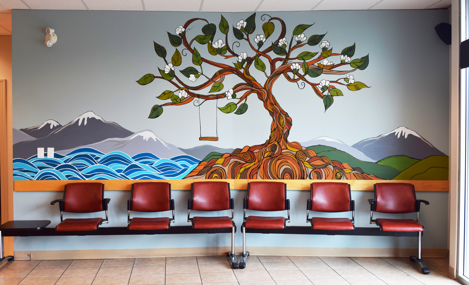 Mural Morgan Creek Medical