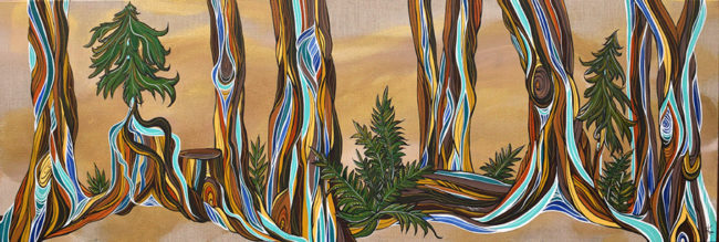 'Forest Secrets' SOLD 18x60